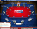 Screenshot BetFred Poker default table