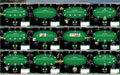 Screenshot Everest Poker: 10 resized tables on 30 inch monitor