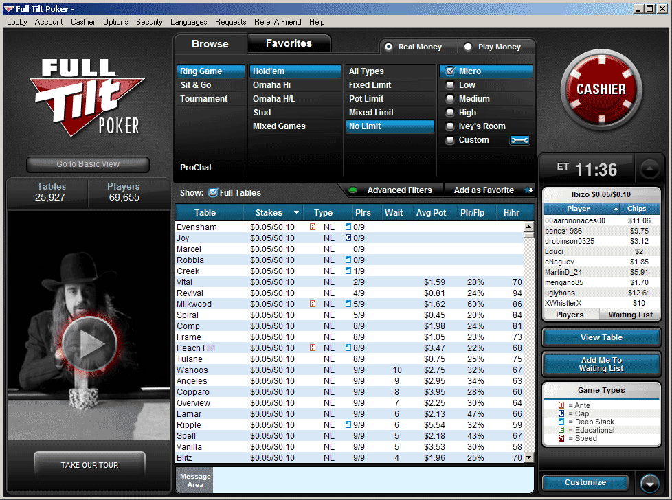Pokerstars lobby download