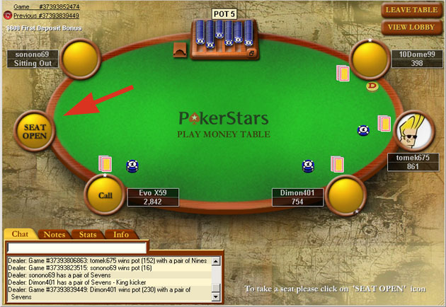 pokerstars play money cheat